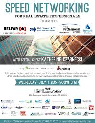 Speed Networking Event For Real Estate Professionals Steward Media