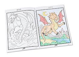 Crayola Color Alive Action Coloring Pages Mythical Creatures Color