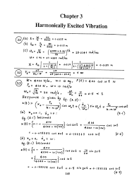 Mechanical Vibrations By Ss Rao 4th Edition Solution Manual Chapter 03