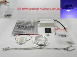 led lighting diy. DIY 100W Reef LED Lights Aquarium Finsh Tank Lighting With Leds+led Lens+ Led Diy
