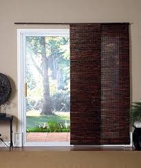 decorative sliding door wood blinds 16 for glass doors faux vertical ideas
