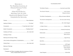 Free Microsoft Word Wedding Program Template Wedding Program Templates Wedding Programs Fast