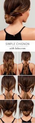 Chingon Hair Style best 25 chignon hairstyle ideas chignons low 6826 by wearticles.com