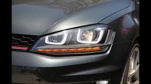 2015 Vw Gti Daytime Running Lights Led Indicator Running Lights Obdeleven Mk7gti