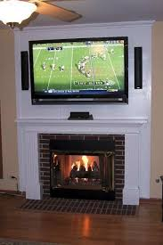 how to hide tv wires in wall above fireplace new mounting a tv above a fireplace