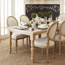 torrance 84 natural whitewash turned leg dining table pier 1 imports