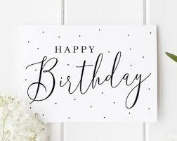 Pretty Birthday Card Etsy