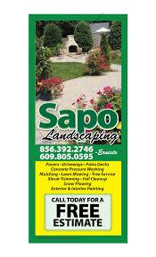 Landscaping Door Hanger Samples 3000doorhangers Com
