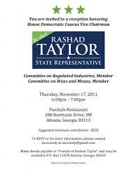 Political Fundraising Invitations Political Fundraiser Invitation Template Fundraiser