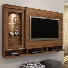 wood modern tv wall unit rs 650