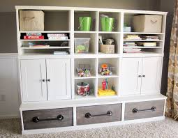 playroom storage furniture. amazing diy playroom storage plans by anawhitecom love the pipe handles and furniture o
