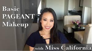 basic pageant makeup tutorial