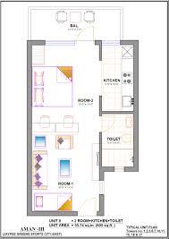 apartments unit room sq ft house plans modern sqft bedroom plan