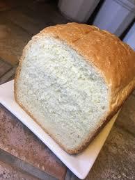 basic white bread for bread machine