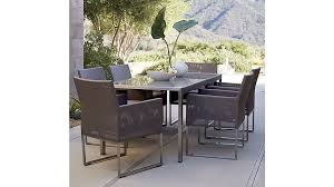 crate and barrel outdoor furniture. Modren And Mesh Outdoor Dining Chair Taupe Cushion Reviews Crate And Barrel Pertaining  To Table Remodel 3  Furniture U