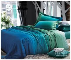 blue and green bedding. Beautiful And Choosing Wholesale Blue Green Gradient Bedding Sets Queen King Size Quilt  Duvet Covers Sheets Bed In A Bag Bedspreads Linen Bedsheets 100 Cotton Bedlinens  Throughout And Green Bedding U