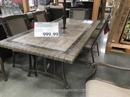 teak outdoor dining table costco fresh patio dining sets costco classy patio ideas aluminum patio furniture
