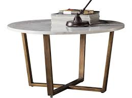 zin marble round coffee table lee