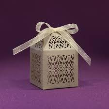 Favor Boxes Paper Orchid