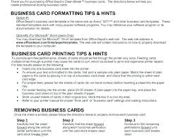 Office Depot Paper Templates Resume Business Card Template Design Best How To Create A Resume For Free