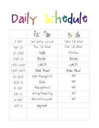 daily calendar template printable blank daily calendar template printable daily routine schedule