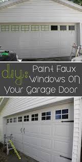 metal garage door makeover with simple paint september 17 2016