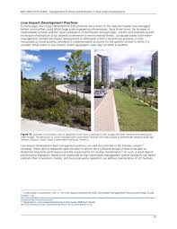 Parking Lot Stormwater Design Management Of Inflow And Infiltration In New Urban