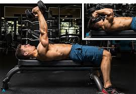 while it can be done with a barbell this dumbbell version with palms facing in can isolate the triceps more effectively to build more m