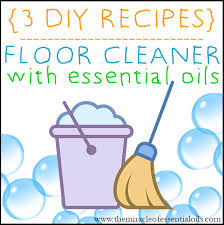 one of the best ways to use essential oils is this diy essential oil floor cleaner