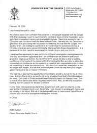 Keith Hudson Recommendation Letter