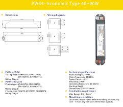 rapid start 36w uv eeconomic ballast pw34 425 90 buy electronic rapid start 36w uv eeconomic ballast pw34 425 90
