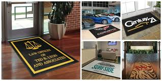 business logo rugs