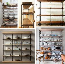 Industrial Bookcase Diy Five Favorites Industrial Shelving Andchristina