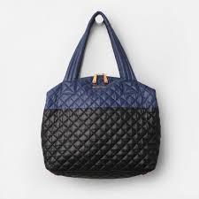 mz wallace handbags. MZ Wallace Large Sutton In Black And Navy Colorblock Oxford Mz Handbags W