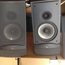 infinity home speakers. infinity rs3 speakers - $100 home