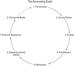 best accounting cycle ideas the accounting as a bookkeeper you complete your work by completing the tasks of the accounting cycle
