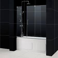 frameless sliding shower door mirage 60 in shower door mirage tub door mirage tub door