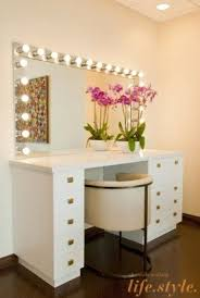 luxury makeup vanity. Vanity Desk With Lights Luxury Makeup Table Foter