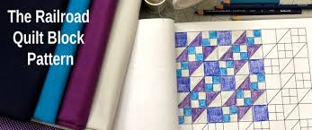 Patchwork Block Designs The Railroad Quilt Block A Free Pattern Indygojunction