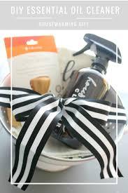 diy essential oil household cleaner housewarming gift