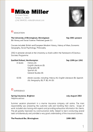 Cosy Modern Resume Writing Sample In Examples Of Resumes Help