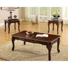 american winslow furniture coffee table sets for dark cherry pieces three home decoration two models