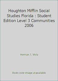 Houghton Social Studies Florida Studies Text Test Grade 4