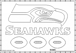 Small Picture Seattle Seahawks Coloring Page for The house Cool Coloring Pages