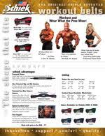 Schiek Inc Lifting Belts