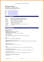 8 Cv Examples Pdf Absence Notes