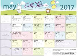 Calendar Sale Cotton Tails