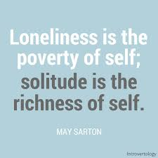 Quotes On Solitude 100 positive quotes about solitude Introvertology 12