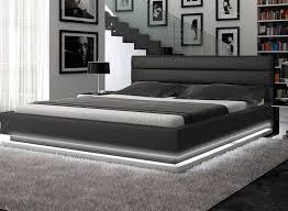 incredible contemporary furniture modern bedroom design. infinity contemporary black platform bed w lights modern bedroom incredible furniture design i