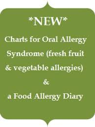 Pollen Food Allergy Chart Poor And Gluten Free With Oral Allergy Syndrome New Food